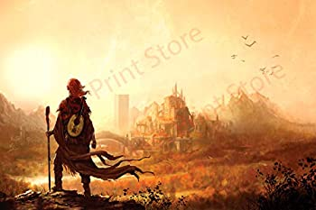 Best Print Store - Kingkiller Chronicles Kvothe at The University Poster  11x17 inches