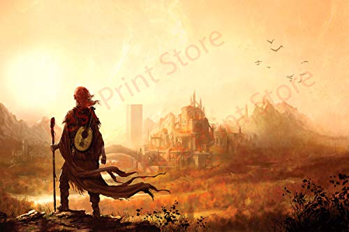 Best Print Store Kingkiller Chronicles, Kvothe at The University Poster (24x36 inches)