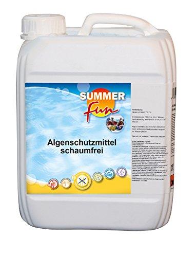 Summer Fun 502010745 Algenschutzmittel Kanister Schaumarm, 5 Liter