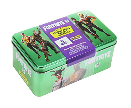 Panini 099317 Verzamelkaarten Fortnite, Mega Tin doosje, kleurrijk
