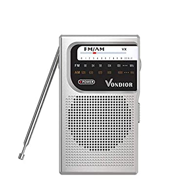 AM / FM Battery Operated Portable Pocket Radio
