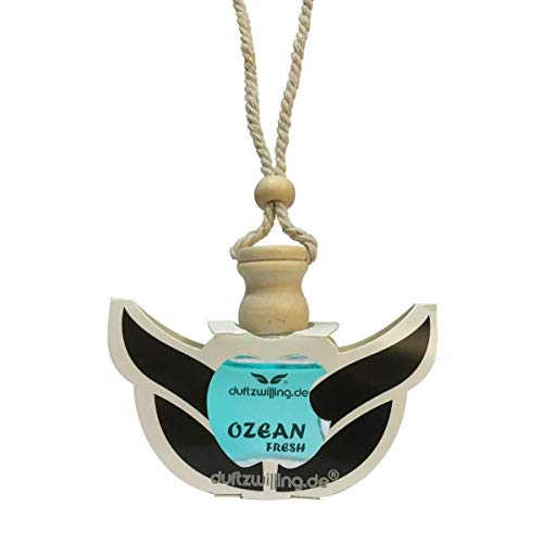 MEGA Autoparfüm OZEAN GERUCH FRISCH Autoduft Parfum Öl Anhänger Düftöl Lufterfrischer Duft fürs Auto (OCEAN FRESH)