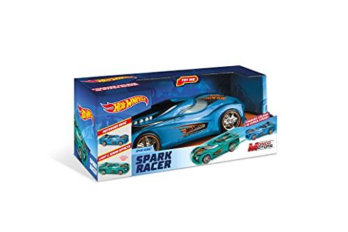Mondo Motors - Hot Wheels Spark Racers Spin King - macchina a frizione per Bambini - luci e suoni - 51198