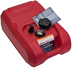 attwood 8803LPG2S EPA and CARB Certified Portable Boat Gas Tank with Gauge, 3 Gallon Capacity