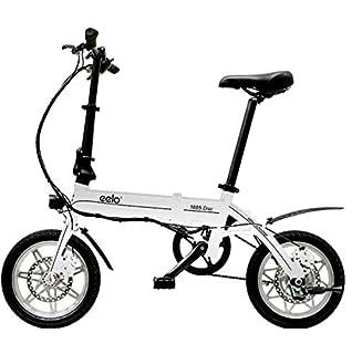 "eelo 1885 PRO 14"" Adults Folding Electric Bike - Portable eBike Easy to Store in Caravan, Motor Home, Boat, Car. Queen's Award Winner (B0872G1PF4) | Amazon price tracker / tracking, Amazon price history charts, Amazon price watches, Amazon price drop alerts"