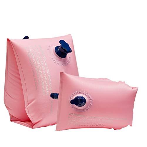 Wosiky Kinder Schwimmflügel für Anfänger, Aufblasbare Schwimmarmbänder Wasserflügel PVC Schwimmhilfe für Kleinkinder und Babys 2 Stück
