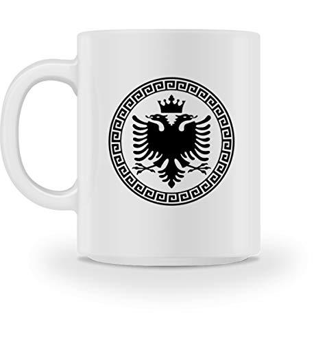 Hochwertige Tasse - Albanische Flagge Shirt Albanischer Adler Albanien T-Shirt Kosovo Geschenk