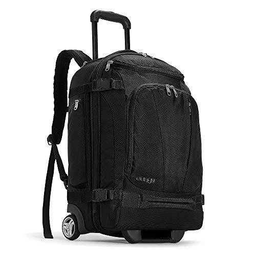 eBags Mother Lode Rolling Travel Backpack (Black)