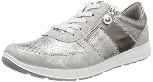 Jenny Damen Glendale Sneaker, Grau (Cloud/Silber, Pebble/Titan/Fucile), 42 EU