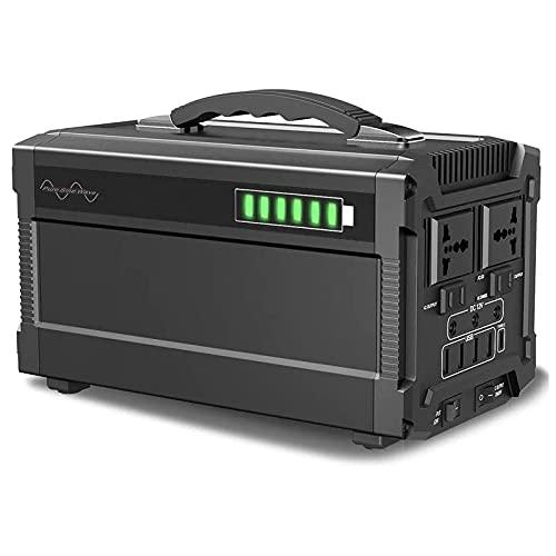 Generador Inverter 444Wh Generador Portátil Solar Carga con AC 220V Salida de...