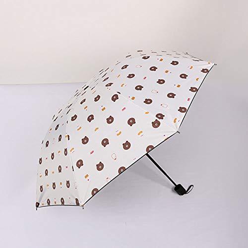 Kekeai automatische paraplu's, mooi winddicht ontwerp Compacte opvouwbare paraplu's met antislip rubberen grip, regen- en parasol, UPF> 50 bescherming voor zaken en reizen