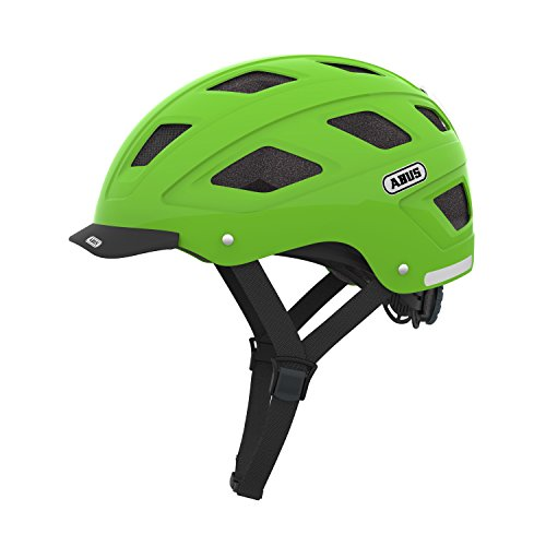 Abus Erwachsene Fahrradhelm Hyban, Green, 52-58 cm