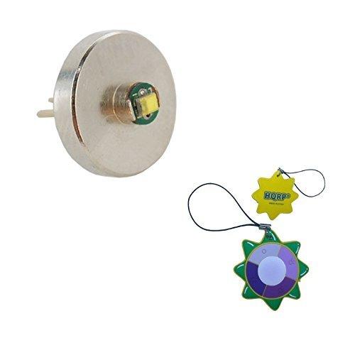 HQRP Upgrade LED Birne Bi-Pin LED-Modul für Mini Mag-Lite und Solitaire Light LM2A001 + HQRP Sonnenlichtmesser