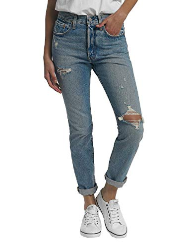 Levi's® Damen Jeans Skinny Can´t Touch This 501 Skinny Fit Stoned Blue (81) 26/30