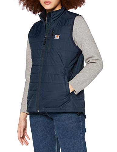 Carhartt Gilliam Vest Calentadores, Navy, XL Regular Abrigo de Trenca