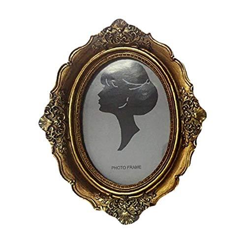 Marcos de cuadros, bronce antiguo, el estilo antiguo de latón y vidrio, marco de metal flotante de la imagen (vertical), para las fotos, arte, marco de fotos más, Tablilla de anuncios colgados de la