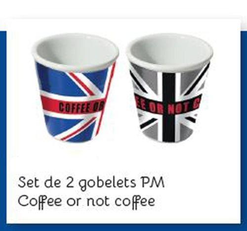 TASSE GOBELET CERAMIQUE COFFEE OR NOT COFFEE LONDON LONDRES