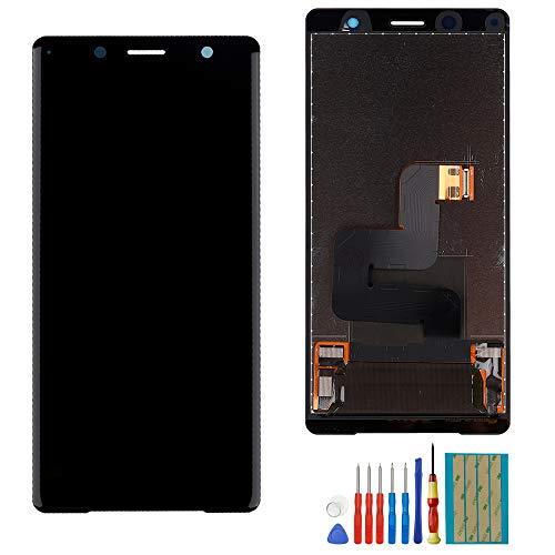 E-YIIVIIL Écran tactile LCD de rechange compatible avec Sony Xperia XZ2 Compact H8324 H8314 avec outils