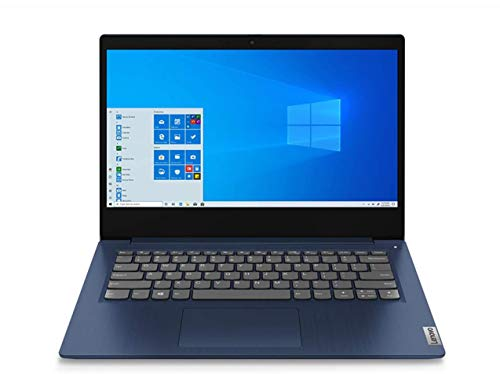 """Lenovo IdeaPad 3 Notebook, Display 14"""" Full HD, Processore Intel Core i3-1005G1, 512 GB SSD, RAM 8 GB, Fingerprint, Windows 10, Abyss Blue"""