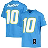Outerstuff Youth Justin Herbert Powder Blue Los Angeles Chargers Replica Player Jersey