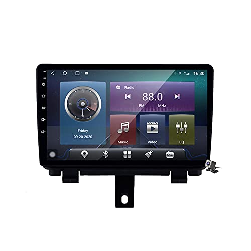 Android 10 Autoradio multimediale con 9 Pollici Screen per Audi Q3 1 2011-2018 Supporta la Navigatore GPS/DSP Stereo Auto BT/FM AM RDS Radio/Controllo del Volante/Carplay Auto,M300s