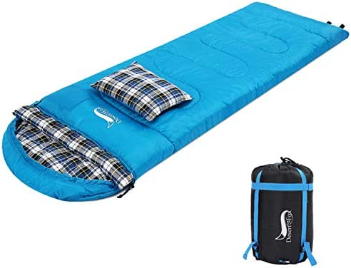 Top 10 Best sleeping bag with pillow Reviews