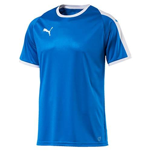 PUMA Erwachsene Liga Jersey, blau(Electric Blue Lemonade / White), XL