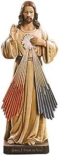 Woodington's Avalon Gallery Divine Mercy 8 Inch Statue