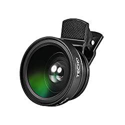 macro and wide angle lens that clips onto phone