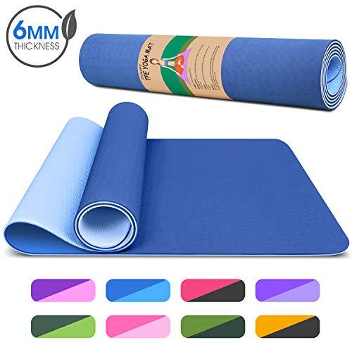 Dralegend Yoga Mat Exercise Fitness Mat - High Density Non-Slip Workout Ma for Yoga,...