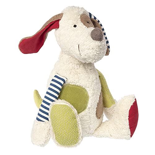 SIGIKID 38764 Kuscheltier Hund Green Mädchen und Jungen Babyspielzeug empfohlen ab Geburt mehrfarbig
