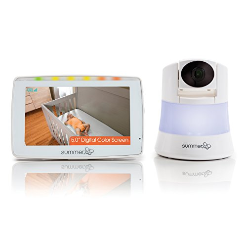Summer Wide View 2.0 Baby Video Monitor with 5-inch Screen and Wide View Camera