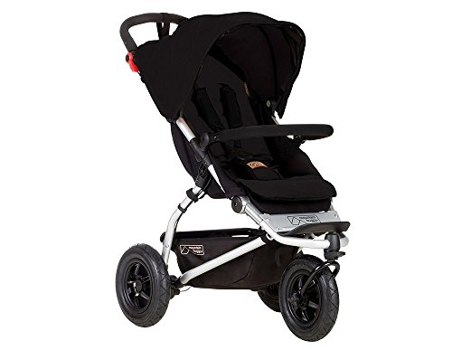 Best Bargain Mountain Buggy Swift Compact Stroller, Black