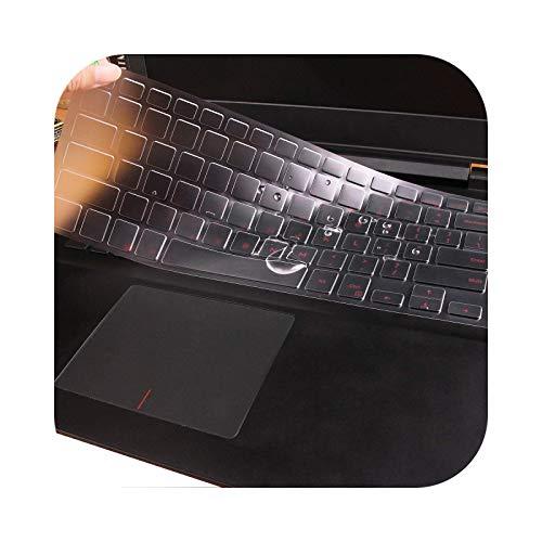 Teclado para teclado 2019/2018 Dell Inspiron 15 3000 5000 7000 15,6 pulgadas / Dell G3 G5 G7 15,6 pulgadas serie cubierta teclado