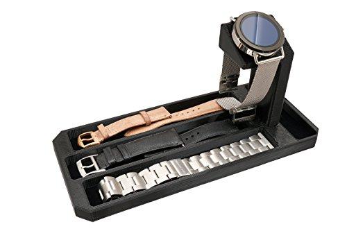 Artifex Design Stand configurato per Skagen Falster Connected Smartwatch Supporto di ricarica Dock Stand (Skagen Strap Combo)