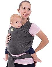 Baby Wikkeldrager All-in-1 Elastische Baby Wikkeldragers - Draagzak voor baby's - Wikkeldragers voor baby's - Handenvrije Wikkeldragers voor baby's - Babyshower geschenk voor baby's - Eén maat voor alles