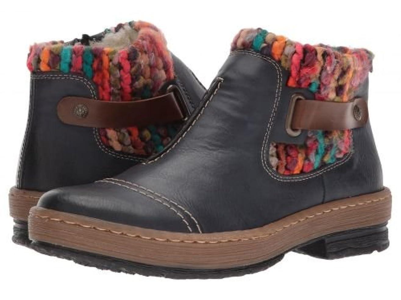 案件ピービッシュ市区町村Rieker(リーカー) レディース 女性用 シューズ 靴 ブーツ アンクルブーツ ショート Z6784 - Ozean/Mogano/Multi [並行輸入品]