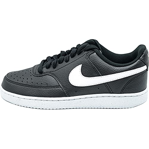 Nike Court Vision Low Better, Zapatillas de bsquetbol Hombre, Black White Black, 38.5 EU