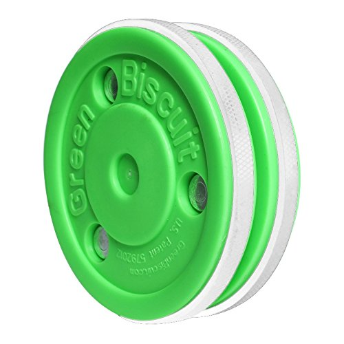 Green Biscuit Eishockey-Trainings-Puck – Pro