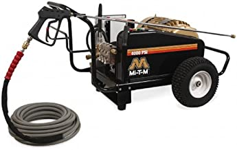 Mi-T-M CW-4004-1ME3 CW Premium Series Cold Water Electric Belt Drive, 15.0 HP Motor, 230V, 40A, 4000 PSI Pressure Washer