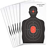 Juvale Paper Shooting Targets, Silhouette (50 Sheets) 14 x 22 Inches pistol bb gun Jan, 2021