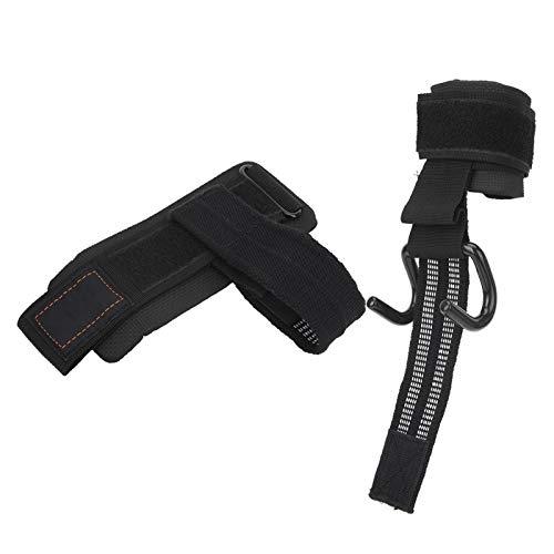DAUERHAFT Évitez Les blessures Portable soulagez Votre Poignet Sangles de Levage avec des Crochets Crochets de Levage électriques, utilisés dans l'aviron