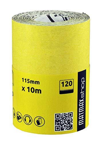 Klingspor LS 309 X Lot de 10 bandes abrasives grain 40 F4G 50 x 2000 mm