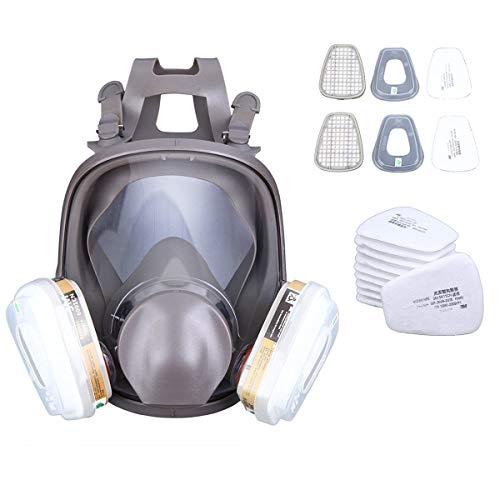 Yonntech Vollmaske Respirator Malerei Maske 15 in 1 Funktion Maske, Filter Enthalten