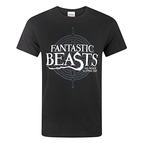 Fantastic Beasts And Where To Find Them Les Animaux Fantastiques - T-Shirt Homme (S) (Noir)