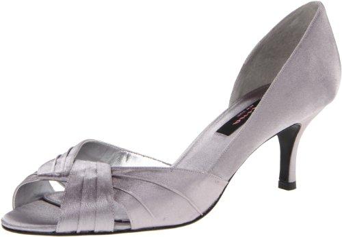 Nina Women's Culver-YS Dress Pump,Silver,8.5 M US