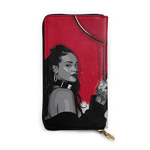 drpwtng rthpnnp pntt plbuc civer Long Leder Wallet Reißverschluss Brieftasche Clutch Geldbörse Münztasche Kartenhalter Paket für Männer und Frauen