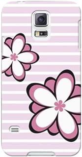 au GALAXY S5(SCL23) 花柄02 スマホケース スマホ ケース ハード カバー ポリカーボネート q0542-f0051(1-ピンク)