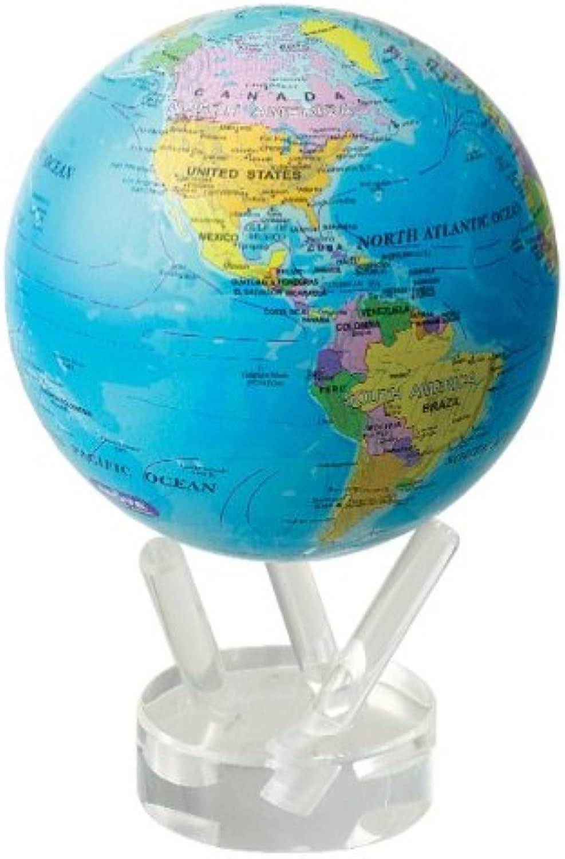 Mova Design Mg-45-Boe 4,5 Zoll Durchmesser Globus In Blau Mit Politischer Karte B0052CKH0O | Lass unsere Waren in die Welt gehen