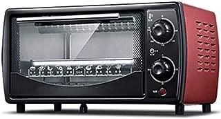 Compacto Mini Horno eléctrico, mini horno y la parrilla con placas doble caliente, mini horno con parrilla eléctrica, mini horno de cocción de los hogares, 30 minutos en la rotación de sincronización,